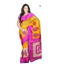 Function Wear Designs Silk Bhagalpuri Printed Saree