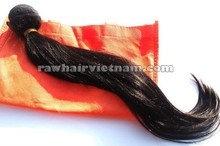 New product human hair machine weft double drawn dark hair wholesale factory price