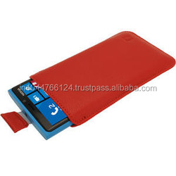 PU Leather Mobile Flip Case