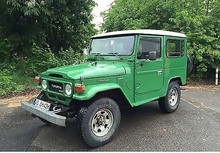 Toyota Land Cruiser BJ 42 TD 4X4 Off Road Vehicle - Left Hand Drive - Left Hand Drive - Stock no:11717