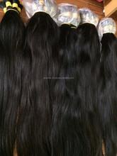 Unprocessed straight Vietnamese hair bulk 5a remy hair extension wholesale cheap hair extension human