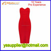 High quality hot sale womens party dress bandage dress evening dress factory price