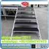 modular aluminum portable stage carpet finished platform for sale