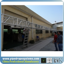 ce/ul/ccc/iso:9001 aluminum curtain track bending machine for stage curtain