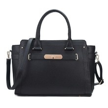 2015 New Arrival Fashion Elegant 100% Faux Leather Custom Tote Bag Woman Hand Bag for Ladies
