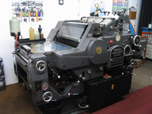 Offset Printing Machines - Heidelberg - KORD, Platen T (Normal & Hot Stamping) Polar Cutting & Gestetner