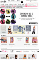 Custom Templates design for Shopping website