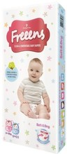 Freeens Baby Disposable Diapers, size L (40 sheets)