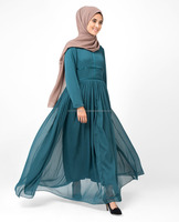 Silk Route Islamic Clothing Abaya Jilbab Islamic Design House - The Real Teal Abaya