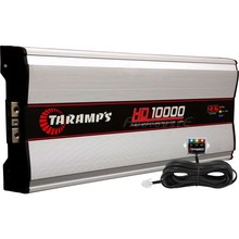 Amplifier Taramps Hd-10000 with voltmeter 10.000w rms @ 1 ohm