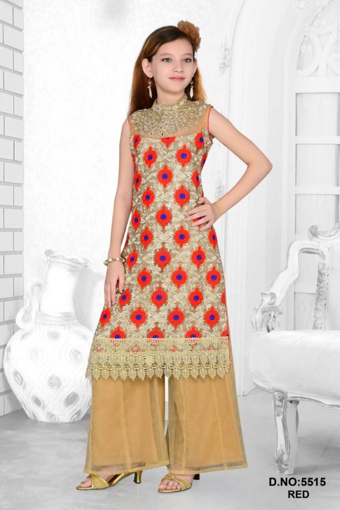 Long Pakistani Plazo Suits