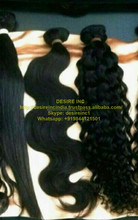Indian manufacturer wholesale cheap 100% virgin black women brazilian human hair