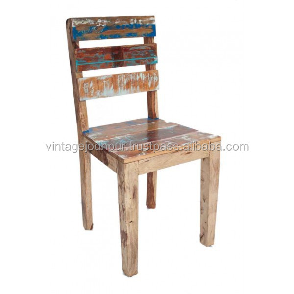 Reclaimed Wood Dining Chair Buy Reclaimed Solid Wood