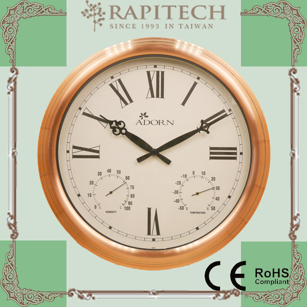 Soleil lune en forme int rieur ext rieur horloge murale horloge polyresin horloge murale id de for Grosse horloge blanche