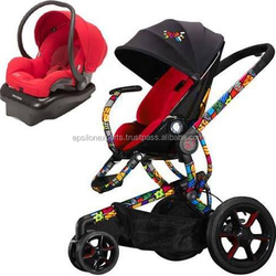 Buy 2 Get 1 Free Quinny Britto Moodd Stroller Travel System W Mico Car Seat Red