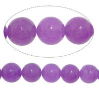 6mm purple White Natural Beads