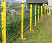 Single & Double swing wire mesh fence gate designs