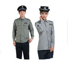2015 Hot sale the guard t-shirts and security guard dress/ uniform