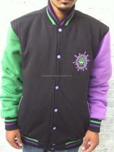 Plain custom Varsity Jackets for baseball wholesale with new design BI-3447