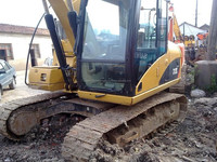 used caterpillar 312C crawler excavator,cheap Japan CAT 312 excavator
