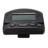High quality Digital Large LCD Count Down Timer Kitchen Home Count Up Down Alarm Timer Black