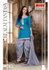 Dress material Patyala Embroidered Churidaar Salwar Kameez