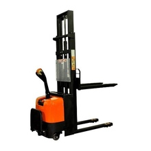 "Bolton Tools New Electric Powered Stacker Forklift with Foot Rest - 2200 LB of Capacity - 118.1"" Max Height - Model E1030"