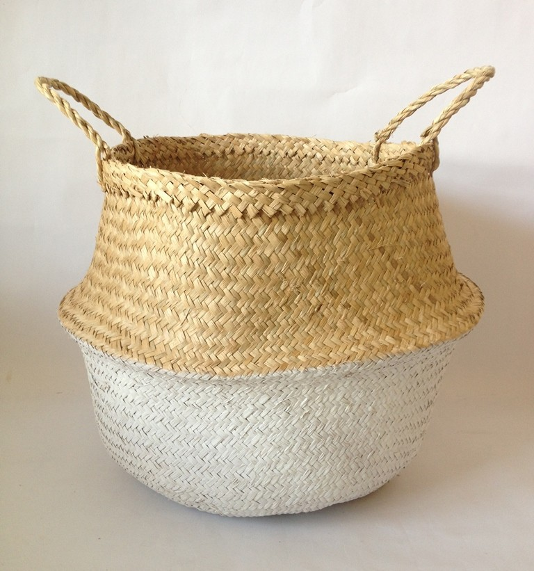 Handmade Basket Companies : Handmade foldable laundry storage seagrass basket buy