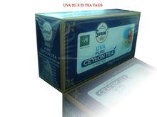 Uva Tea 2g x25 Tags(50 grm)