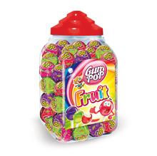 lollipops with bubbel gum 18g / 100pcs