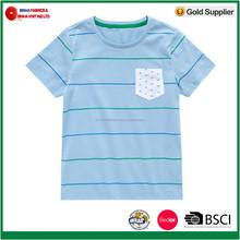 160g/m2 100% Cotton Jersey Boy's T-Shirts