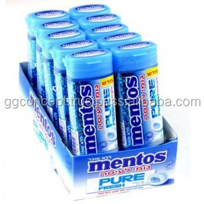 Mentos Pure Fresh Chewing Gum Freshmint 50018800920 on van inspection