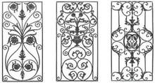 forged iron panel