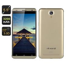 VKWorld VK700 Pro Smartphone - 5.5 Inch HD Screen, Gorilla Glass - Gold