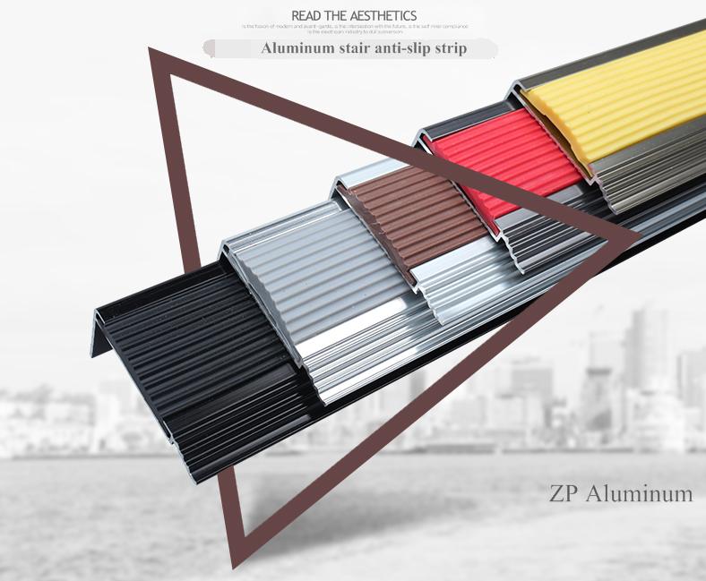 Excellent Aluminum Anti Slip Strip Stair Nosing: 1