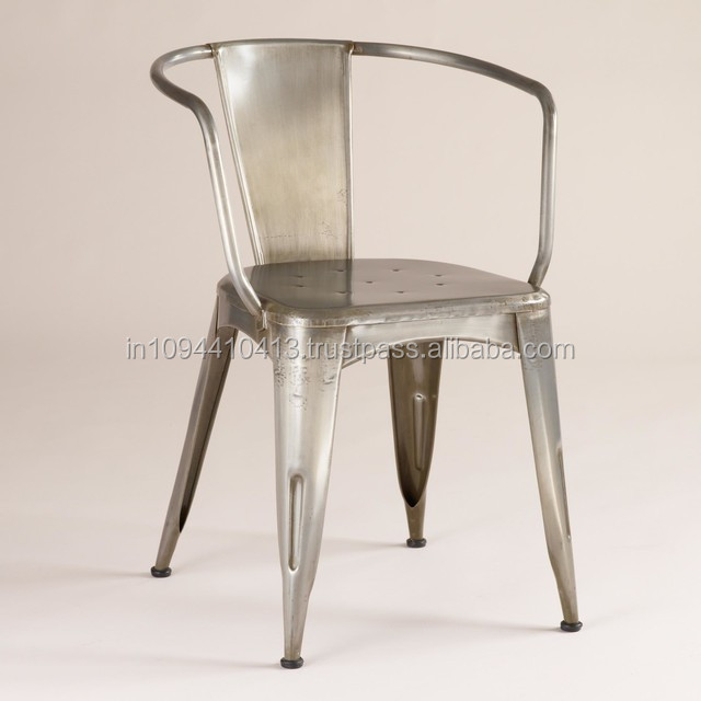 Industrial iron dining room chair buy industrial iron for Replacement dining room chair seats