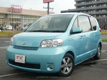 Good looking and japanese cheap automatic cars photos toyota Porte 2007 used car with Good Condition