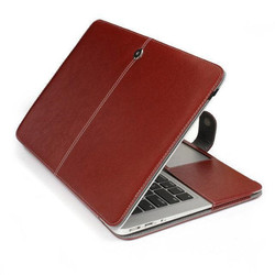 Business Smart PU Leather Case Cover for macbook retina 15""