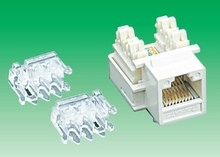 rj45 keystone jack / Cat5e / cat6 / UTP / FTP / IDC tool type / toolless type
