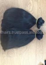 100% Human Remy Hair no chemical virgin hair high quality weft hair