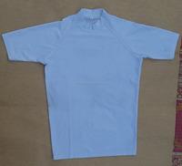 custom half sleeve spandex compression sport t shirt