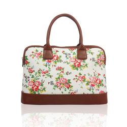 Designer Style Holdall Handle Travel Luggage Weekend Bag