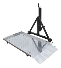 """Trailer Hitch Mounted Scooter / Wheelchair Carrier for 2"""" Trailer Hitches - Fold Up"""
