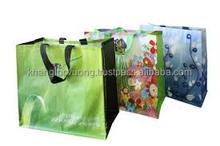 Chanrming PP wonven shopping bags