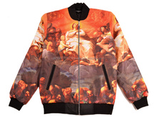 custom bomber jacket wholesale / american baseball jackets / satin varsity jackets From Roz Industries
