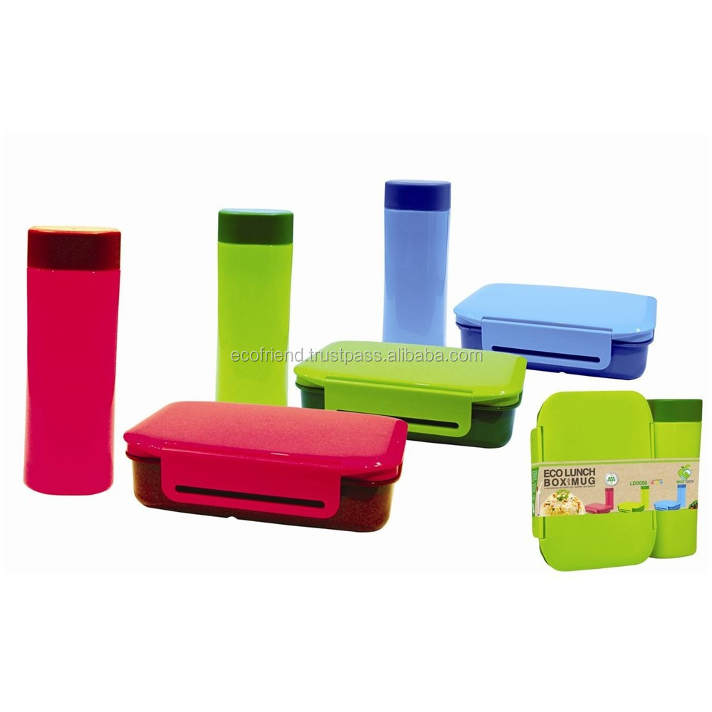 Eco Lunch Box With Mug Buy Lunch Box Set With Lock Hot