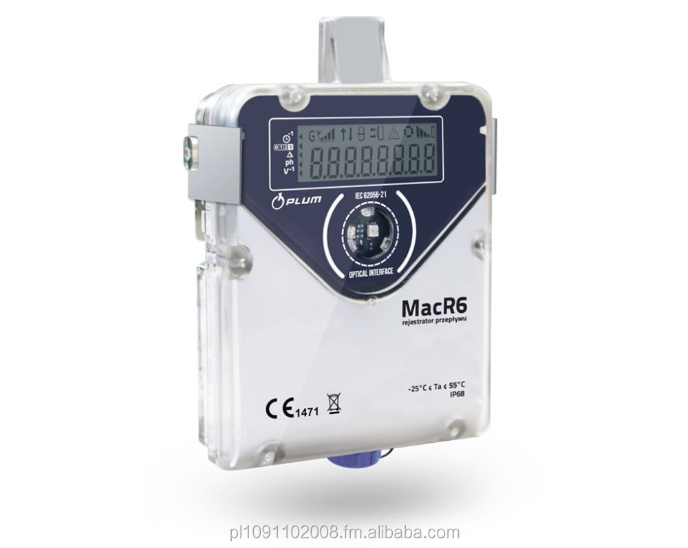 Electronic Water Meter Data Log : Macr p water data logger amr system buy smart
