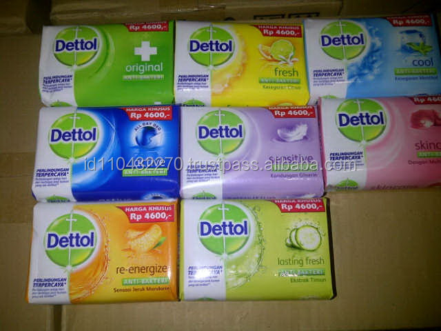 Indonesia DS0001 Dettol Antiseptic Bath Soap