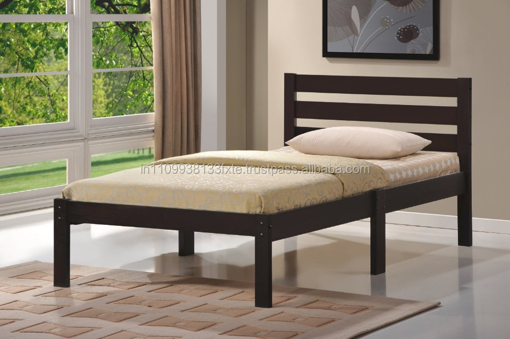 headboard platform wooden double bed designs for apartments modern