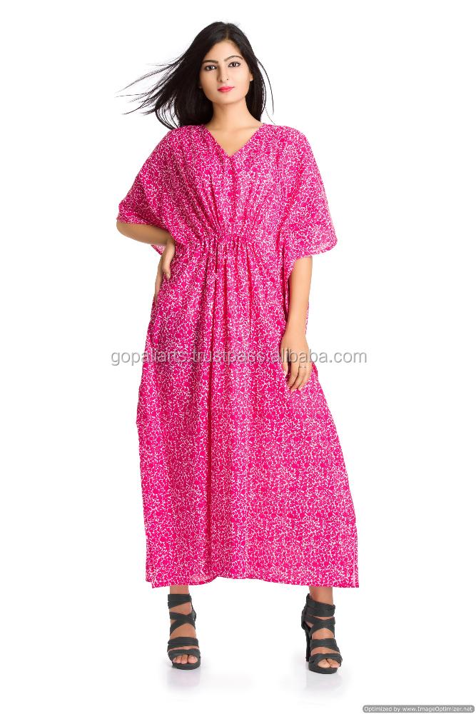 Plus size cotton house dresses